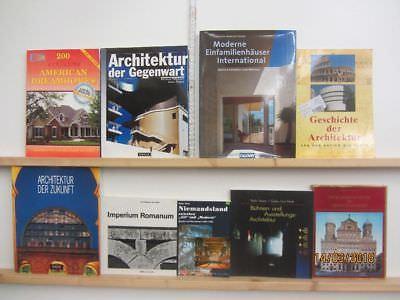 27 Bücher Bildbände Architektur Baustile Stilkunde