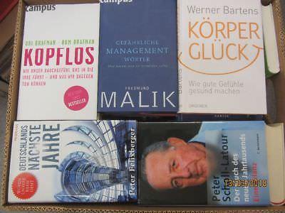 41 Bücher Sachbücher Wissenschaft Wirtschaft Politik Zeitgeschichte