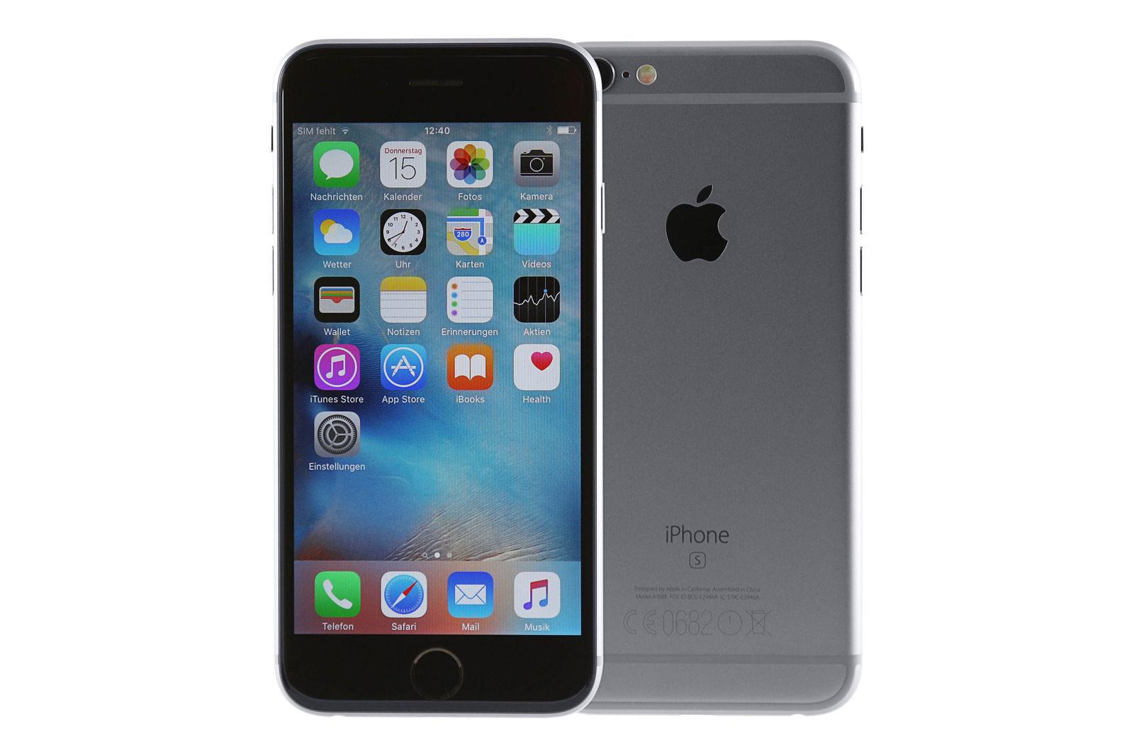 Apple iPhone 6s 64GB Spacegrau - Gebraucht / AKTION