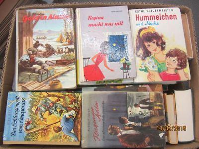 58 Bücher ältere Kinderbücher ältere Jugendbücher ältere Jugendromane Paket 1