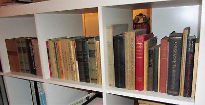Lot 55+ alte Bücher auf RUSSISCH aus Archivauflösung eines Uni-Instituts (20 kg)