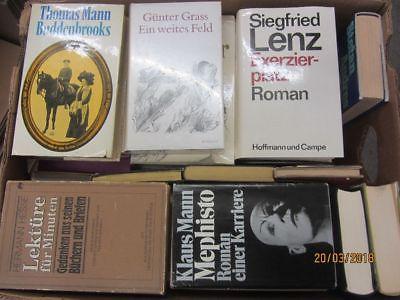 38 Bücher Romane deutsche Klassiker Böll Lenz Mann Grass Hesse u.a. Paket 1