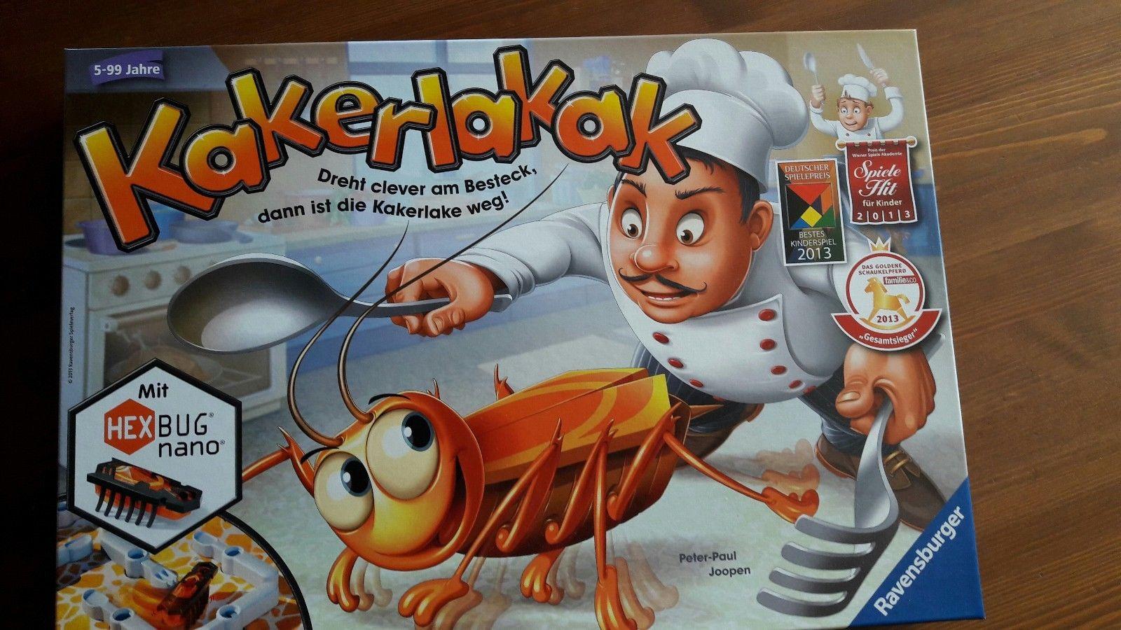 Spiel Kakerlakak von Ravensburger ab 5 Jahren Gesellschaftsspiel Brettspiel