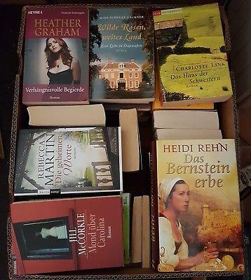 Frauen Liebe - 60 Bücher - Buchpaket Bücherpaket Buchsammlung