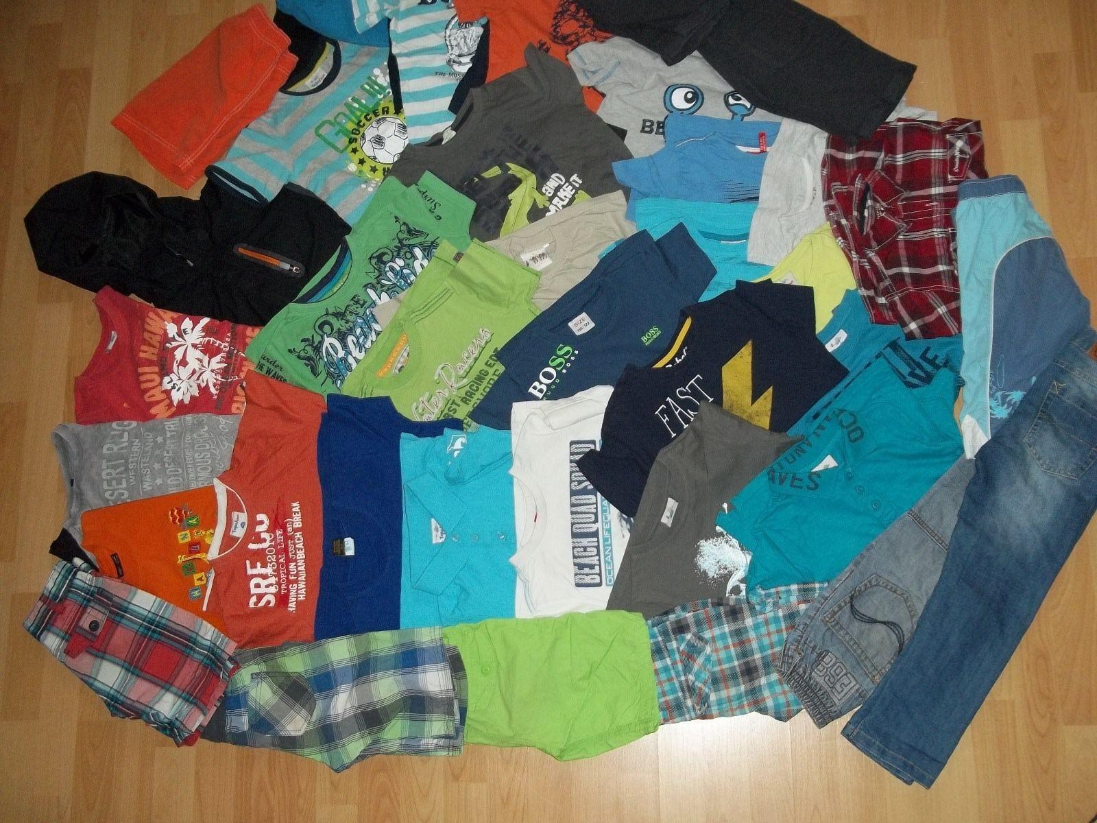 42 tlg. Paket Jungen 110 116 122 T-Shirts Hosen Jacke Killtec Esprit s.Oliver