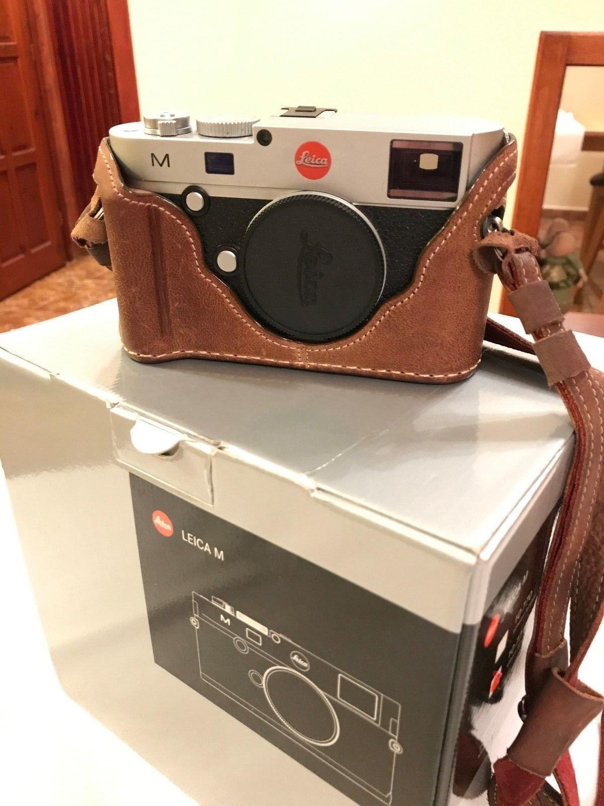 Leica M 240 silber 10771 M240 mit Zubehörpaket Luigi Case - Topzustand