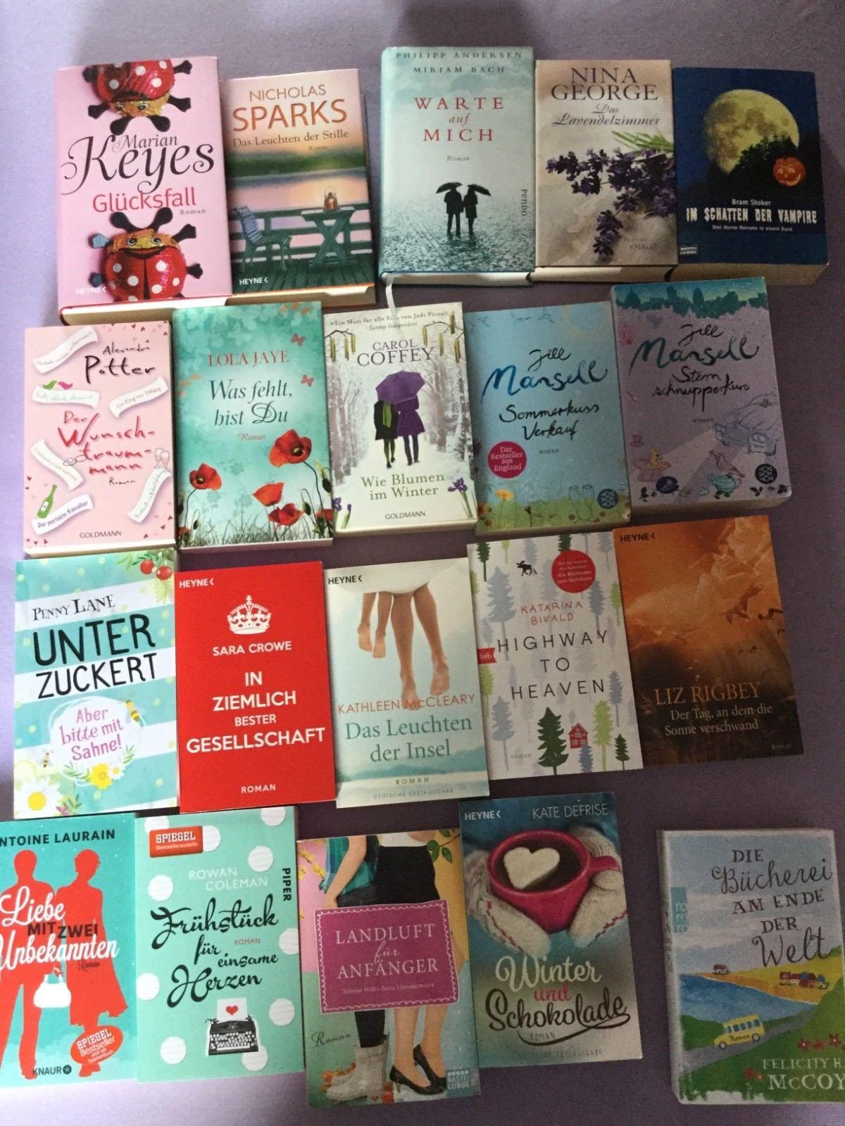 Bücherpaket Belletristik Romane deutsch Top