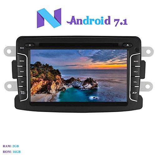 Android 7.1 Autoradio, Hi-azul 2 Din Car Audio 7