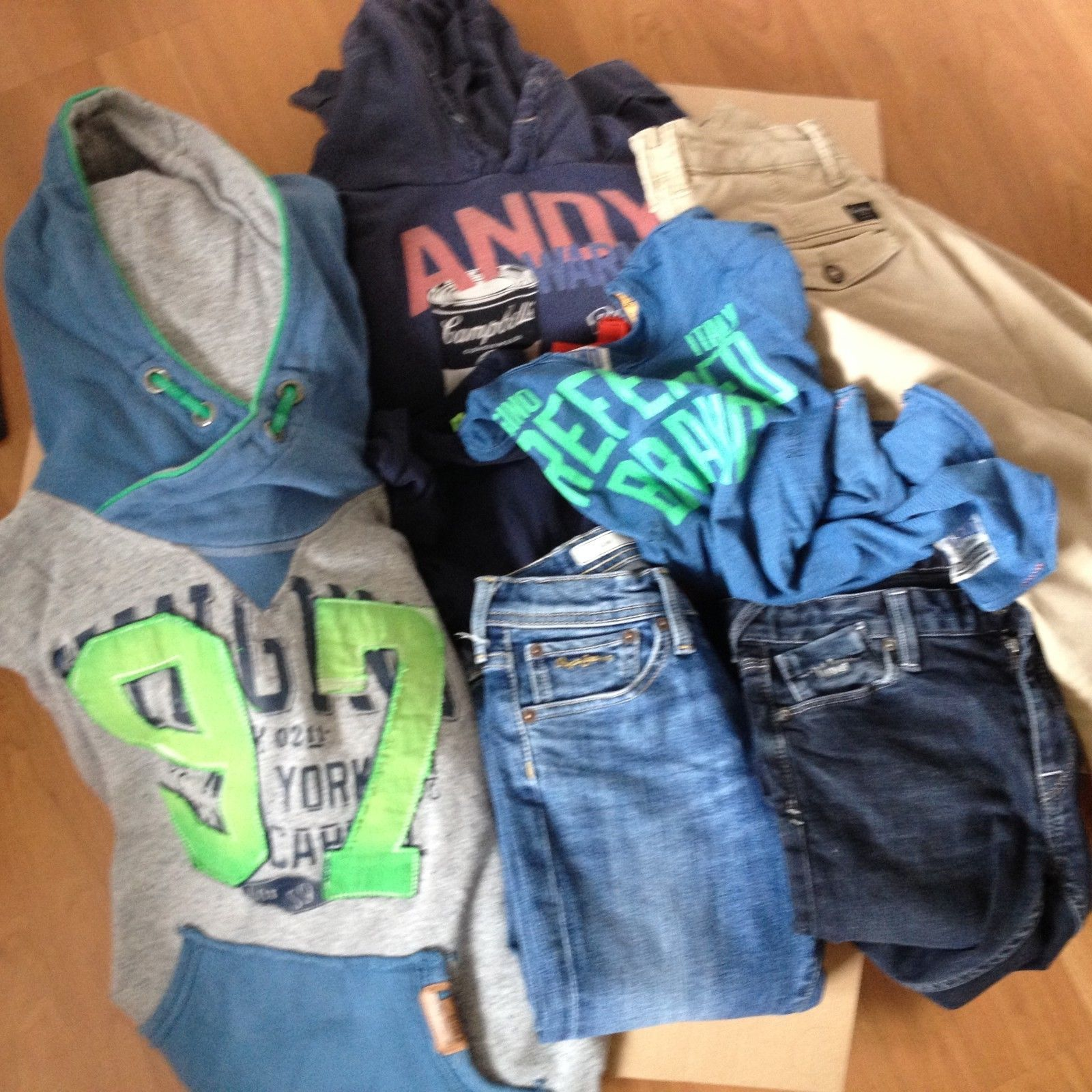 Jungen Kleidung Vingino Pepe Jeans (Größe 140 – 8 Stück)
