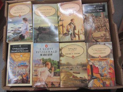 63 englische Taschenbücher Penguin Verlag Penguin Popular Classics