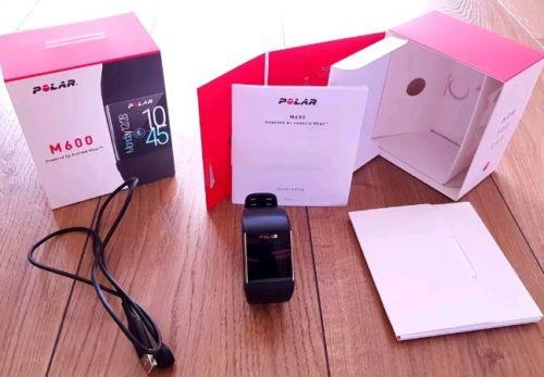 Polar M600 Smartwatch, Pulsuhr Activitytracker mit GPS und Messung am Handgelenk