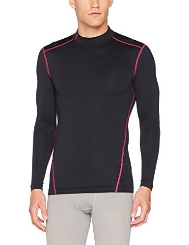 Under Armour Herren UA CG Armour Mock Fitness-Sweatshirts, Black, M