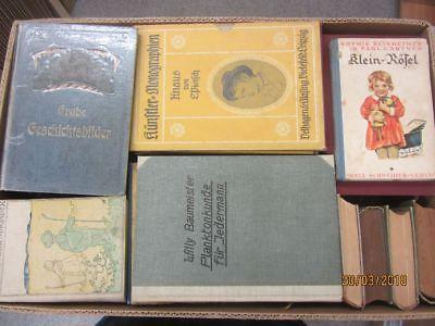 40 Bücher antiquarische Bücher