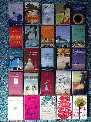 Paket 25 Bücher Romane Liebe Frauen: Gavalda Gilbert Munro Niffenegger Shalev