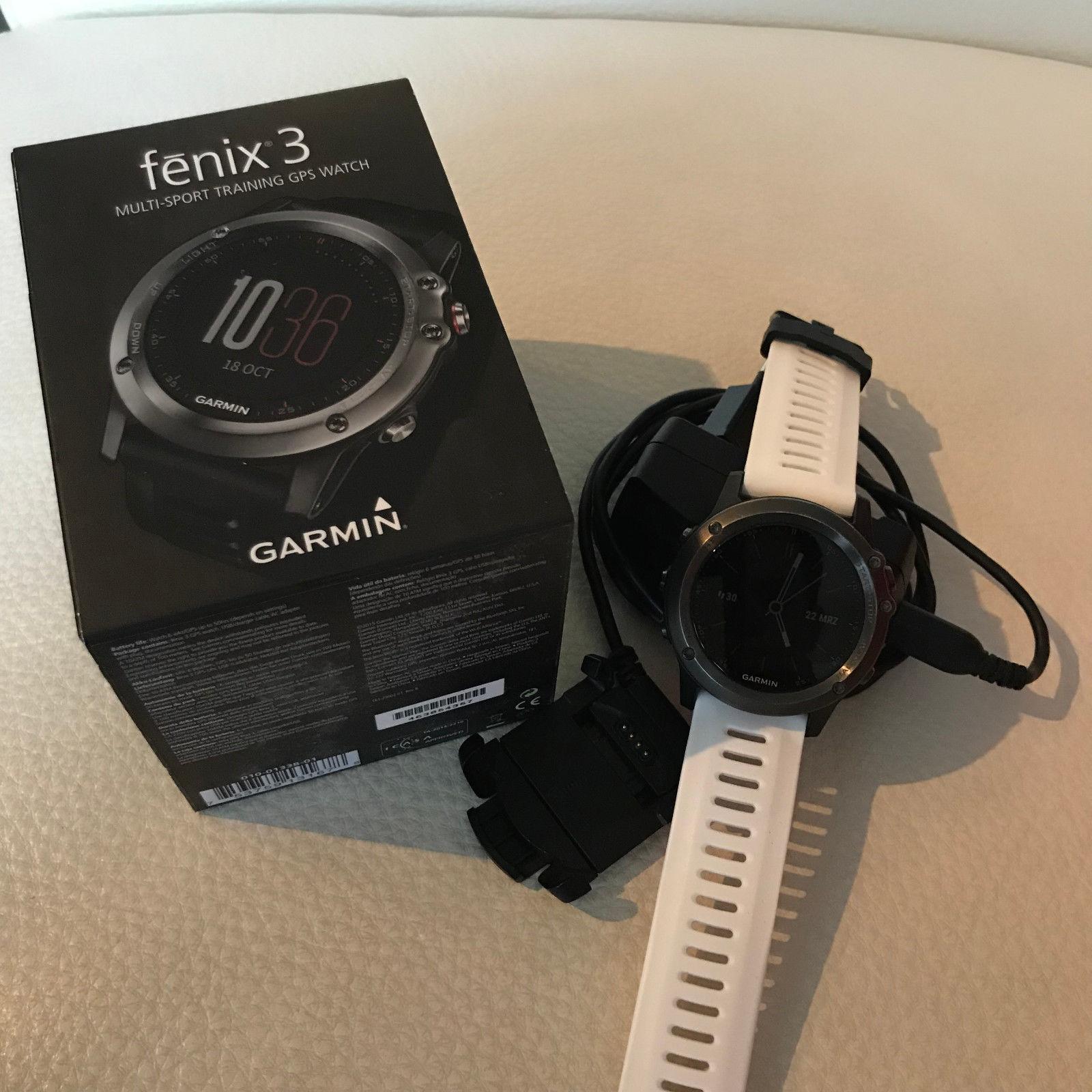 Garmin Fenix 3 OVP - kaum Gebrauchsspuren, Multisportuhr