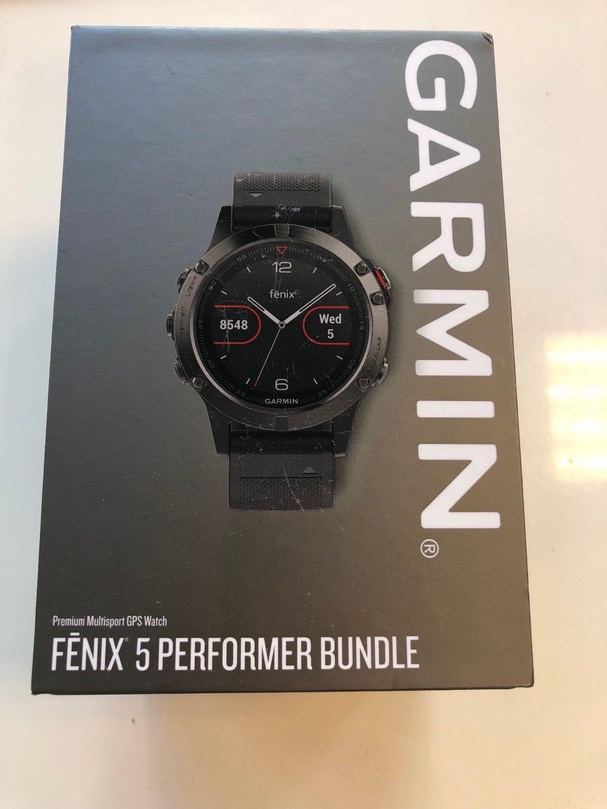 Garmin FENIX 5 Performer Bundle NAGEL NEU ungeöffnet Inkl. Rechnung