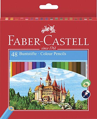 Faber-Castell 120148 - Eco Buntstifte, 48er Kartonetui