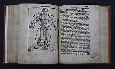ARTZNEYBUCH KÖSTLICH FUR MANCHERLEY KRANCKHEIT,ILLUSTRIERT,SACHSE,ERFURT,1546
