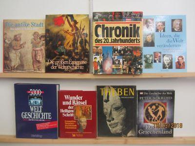 19 Bücher Bildbände Kunst Kultur Geschichte Weltgeschichte