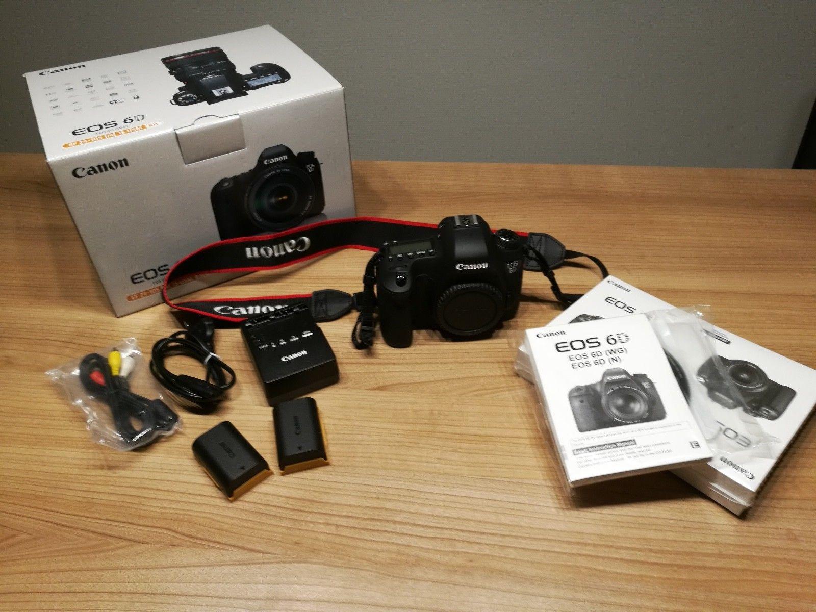 Canon EOS 6D Body TOP ZUSTAND + Zubehörpaket