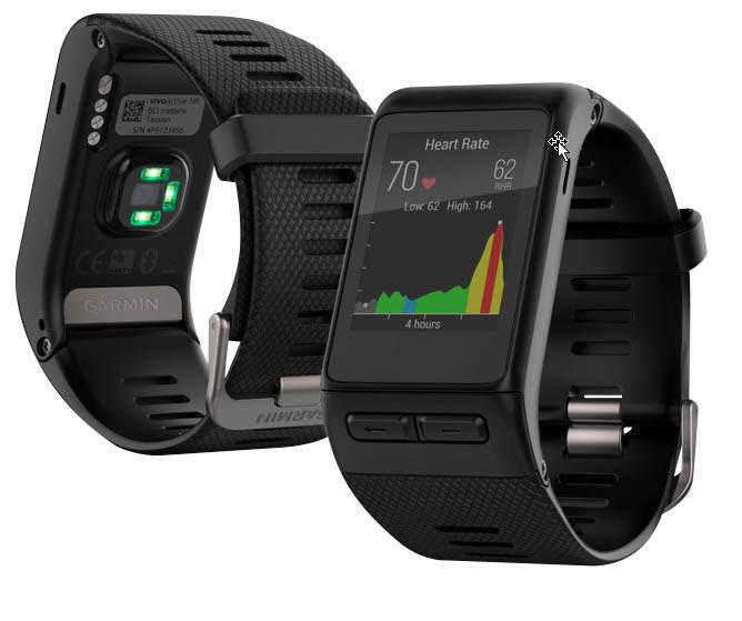 Garmin vivoactive HR / vívoactive HR Sport-GPS-Smartwatch Farb-Touchscreen