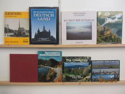 24 Bücher Bildbände Deutschland deutsche Bundesländer deutsche Städte