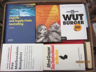 38 Bücher Sachbücher Wissenschaft Wirtschaft Politik Zeitgeschichte