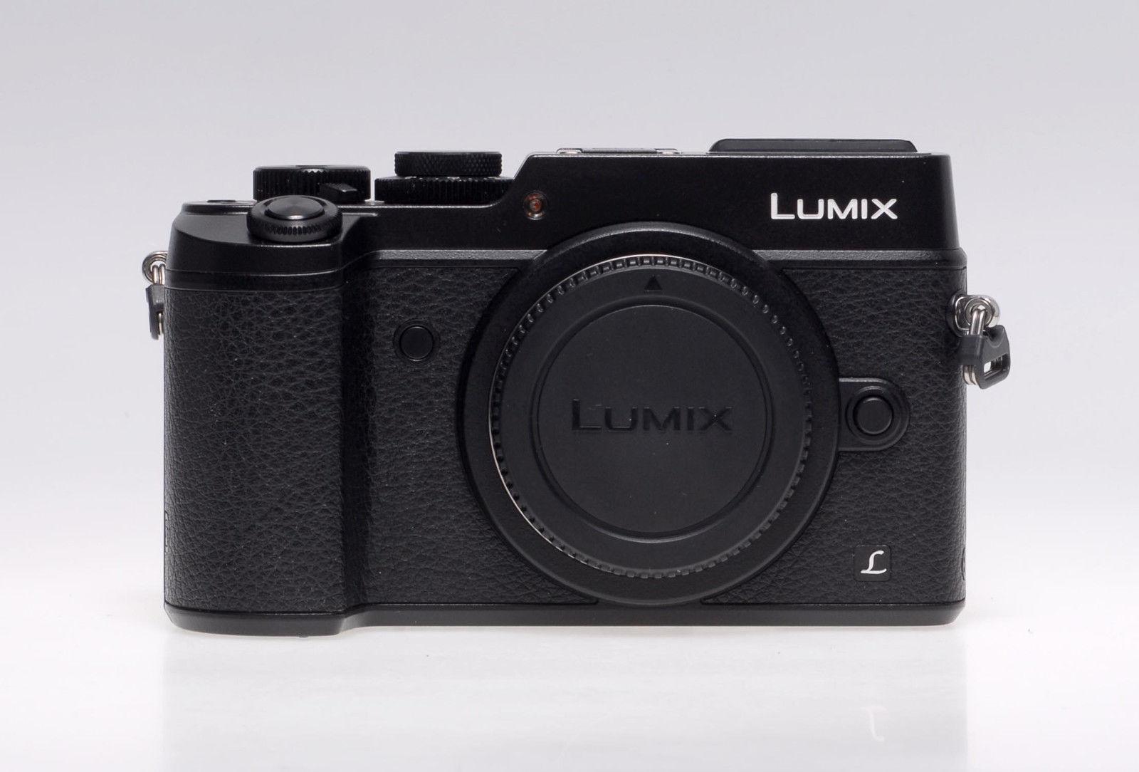 Panasonic LUMIX DMC-GX8 20.3MP Digitalkamera - Schwarz  - gebraucht