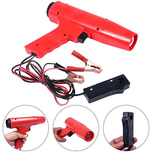HYET® Zündlichtpistole Blitzpistole Zündeinstelllampe Stroboskoplampe Zündung Zündzeitpunkt 12V