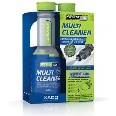 XADO ATOMEX Multi Cleaner Benzin Kraftstoff-Systemreiniger Injektor-Reiniger Einspritzdüsen-Reiniger - Additiv- 250ml