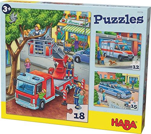 HABA 302759 - Puzzle Polizei
