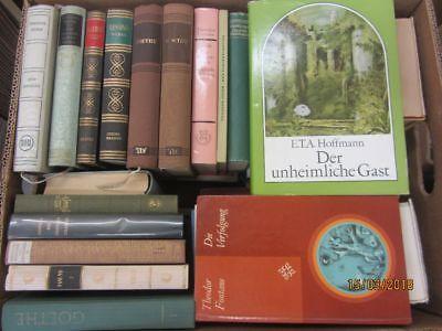 41 Bücher Romane Deutsche Dichter und Denker Schiller Goethe Storm u.a.