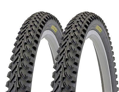 2 x Kenda Reifen ATB / MTB Mittelsteg Fahrradreifen 26 Zoll 26x1.95 (50-559)