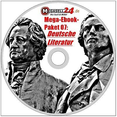 MEGA-EBOOK-PAKET 07 DEUTSCHE LITERATUR CD 748 eBooks über 180000 Seiten PDF NEU