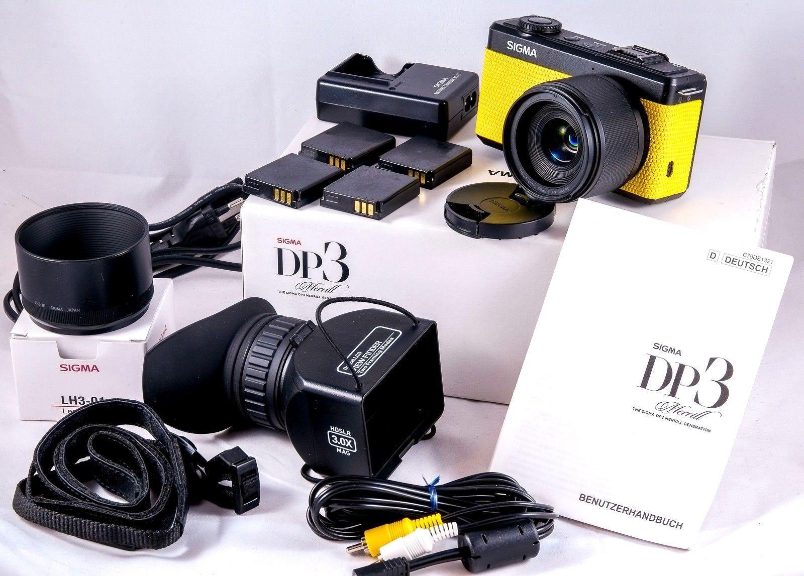 Sigma DP3 Merrill -  Perfekt für Makro & Portrait - Foveon Sensor