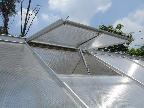 Automatischer Fensteröffner für Gewächshäuser und Gartenhäuser