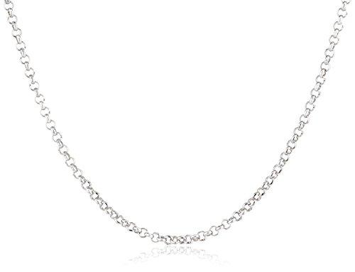 Engelsrufer Damen Halskette 925 Sterling Silber rhodiniert 90 cm ERN-90-E