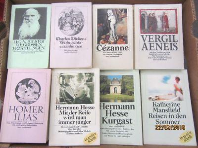86 Bücher Taschenbücher Insel Verlag
