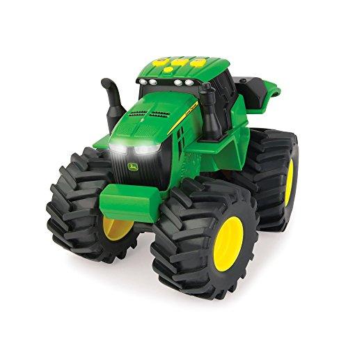 John Deere Preschool 46656 Monster Treads Licht und Sound Traktor, Grün