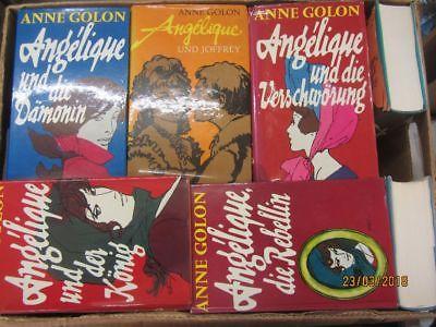 Anne Golon 27 Bücher Angelique Angeliqueromane historische Romane