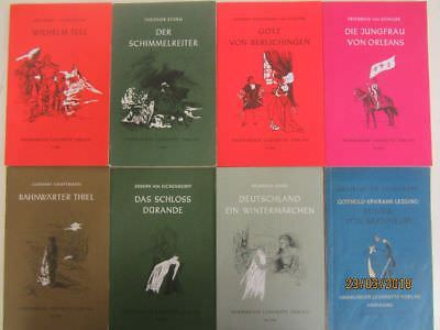 90 Bücher Taschenbücher Hefte Hamburger Leseheft Verlag Literaturklassiker