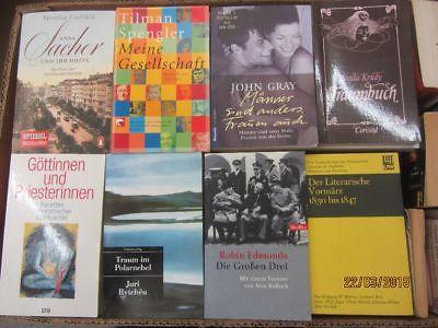 103  Bücher Taschenbücher verschiedene Verlage