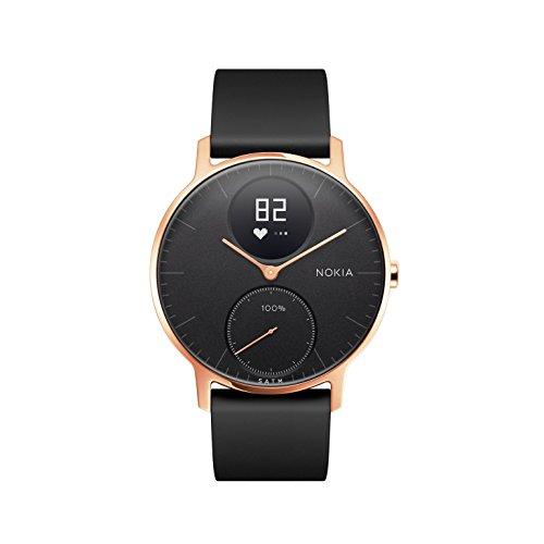 Nokia Steel HR Rose Gold Hybrid Smartwatch - Armbanduhr mit Aktivitäts & Herzfrequenzfunktion