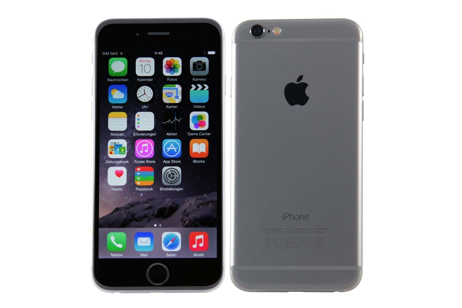 Apple iPhone 6 16GB Spacegrau (Ohne Simlock) - Gebraucht / AKTION