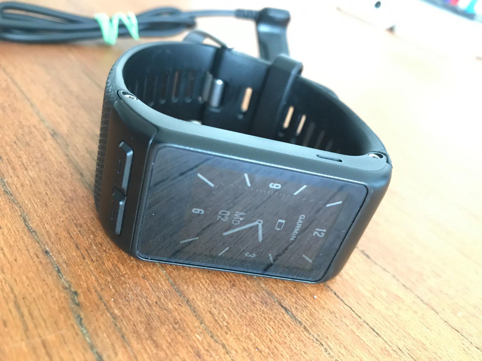 Garmin Vivoactive HR - GPS Smartwatch Sport Fitnesstracker Sportuhr Neuwertig