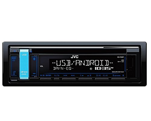JVC Radio KDR481 1DIN mit Einbauset für VW New Beetle (9C) 1998-2010