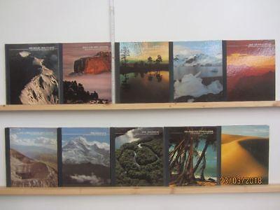 21 Bücher Wildnisse der Welt Time Life Serie Länderberichte Landschaftsbildbände