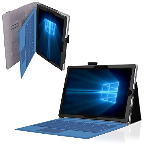 Microsoft Surface Pro 2017 Tasche Schwarz Schutzhülle Tablet Hülle Case Cover