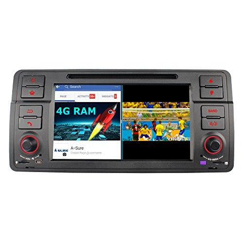 Android 8.0 Autoradio , A-SURE In-dash 7