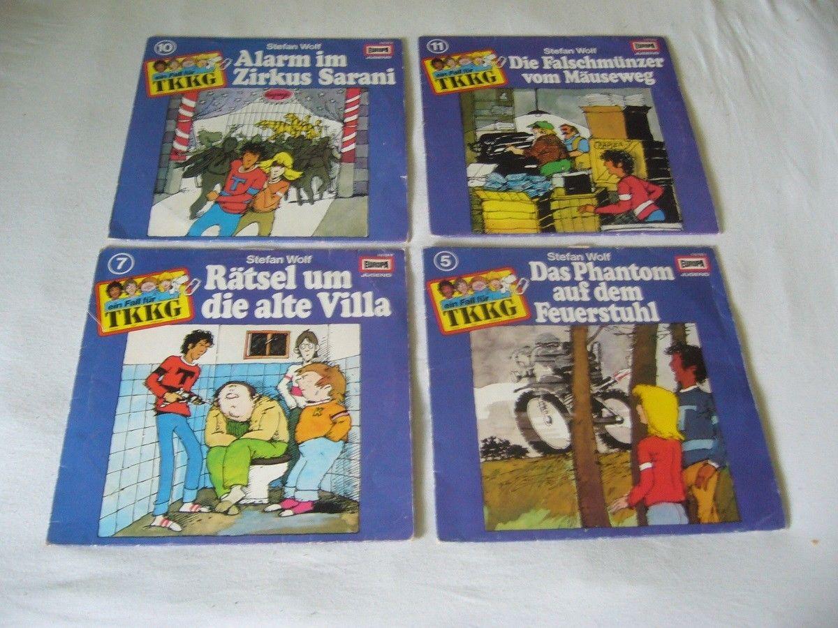 5x TKKG Hörspiel Schallplatte Vinyl